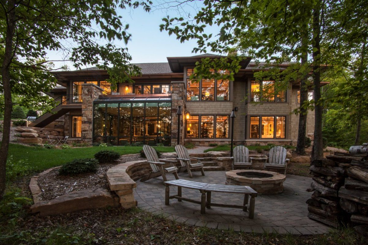 Modern Prairie in the Country