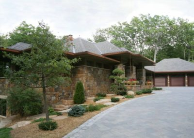 Prairie Style in the Woods