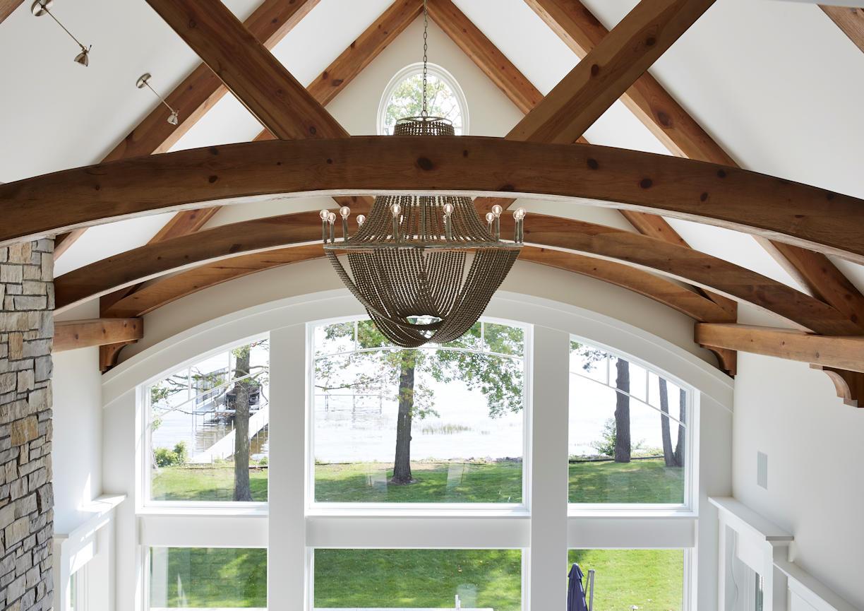 Lakeside Retreat ceiling detail