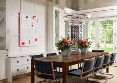 Lakeside Retreat dining room