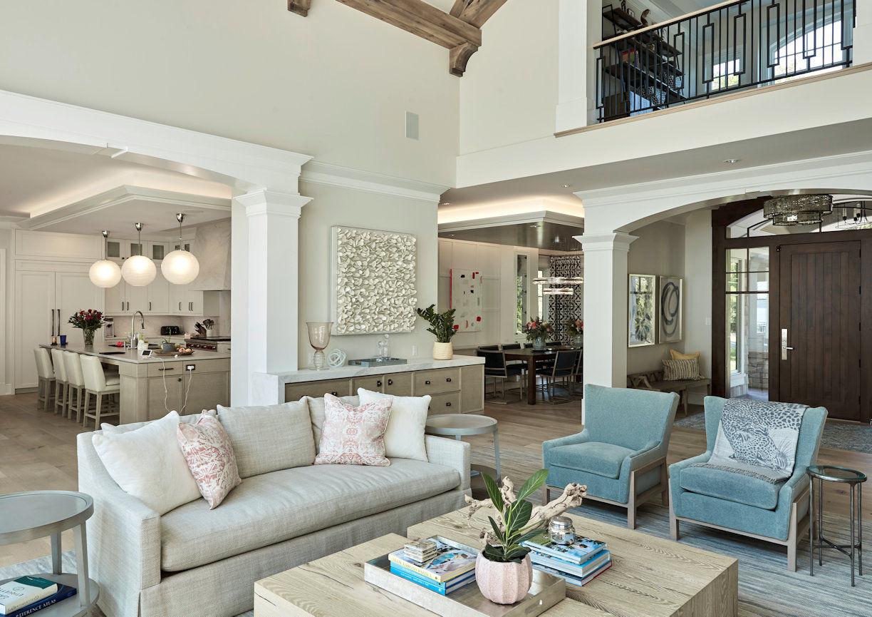 Lakeside Retreat great room