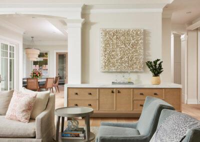 Lakeside Retreat living room